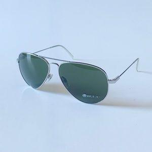 Electric NWT aviator sunglasses in gunmetal silver